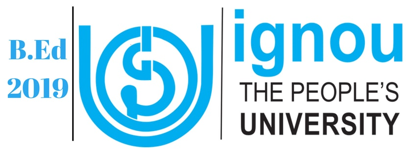 IGNOU BEd 2019