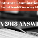 JEE Main 2018 Answer Key and Previous Papers