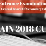 JEE Main 2018 Cut Off
