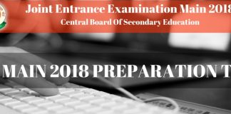 JEE Main Preparation Tips for 2018 Exam