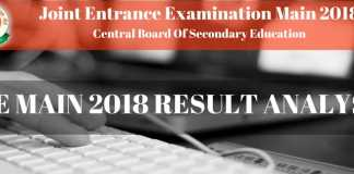 JEE Main 2018 Result - Check here