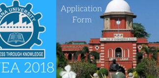TNEA 2018 Application Form