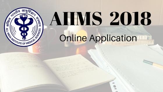 AIIMS 2018 Online Application
