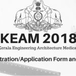 KEAM 2018 Registration and Fees
