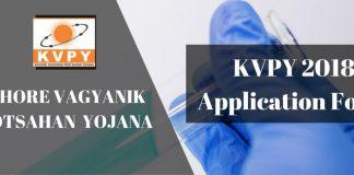 KVPY 2018 Application Form