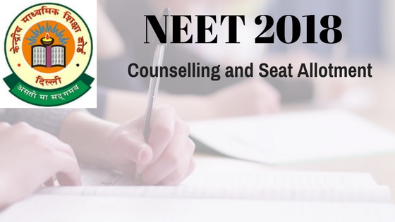 NEET 2018 Counselling