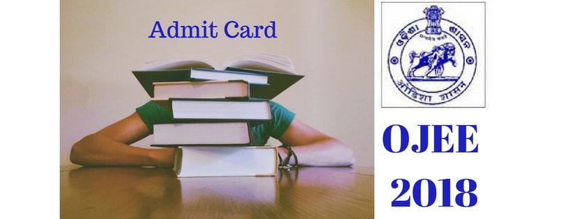 OJEE 2018 Admit Card