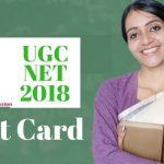 UGC NET 2018 Admit Card Download