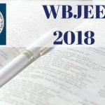WBJEE 2018