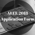AEEE 2018 Application Form