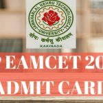 AP EAMCET 2018 Admit Card