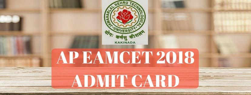 AP EAMCET 2018 Admit Card