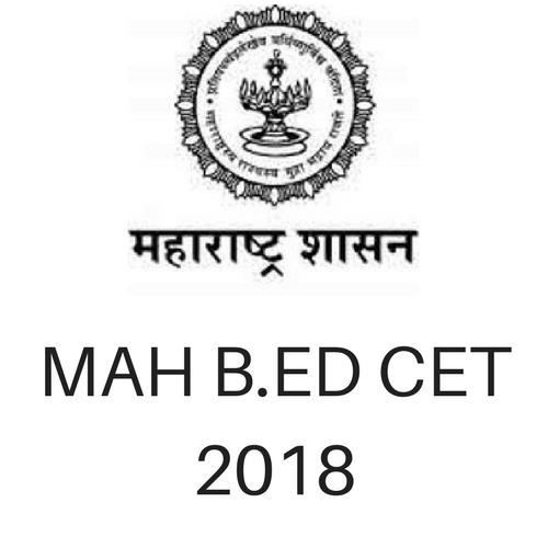 MAH B.ED CET 2018