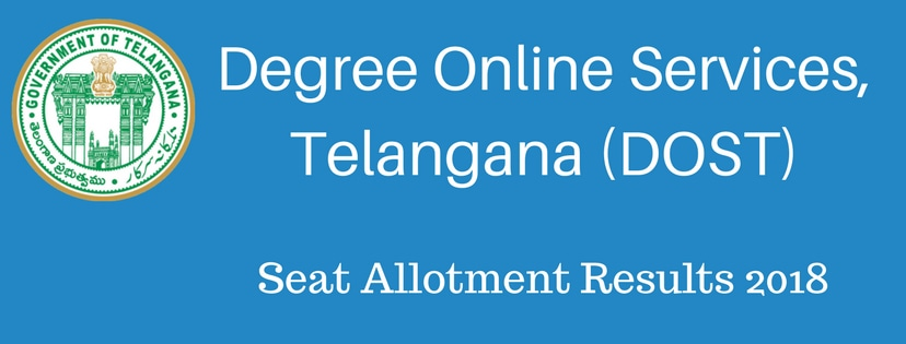 Degree Online Services, Telangana (DOST)