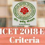 AP EAMCET 2018 Eligibility Criteria