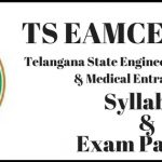 TS EAMCET 2018 Exam Pattern