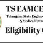 TS EAMCET 2018 Eligibility Criteria