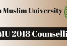 AMU 2018 Counselling