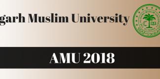 AMU 2018