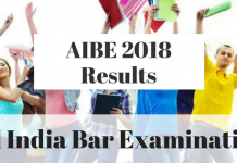 AIBE 2018 Results