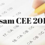 Assam CEE 2018