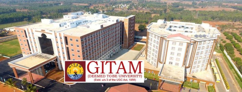 GITAM GAT 2019 Admissions, Dates, Application Form, Eligibility
