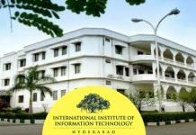 IIIT Hyderabad 2019