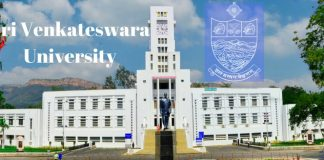 Sri Venkateswara University Distance Education Admission 2018
