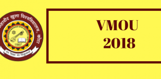 VMOU 2018 Admissions
