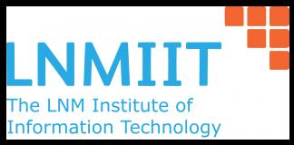 LNMIIT Admissions 2019