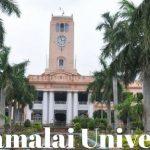 Annamalai University Admission 2018