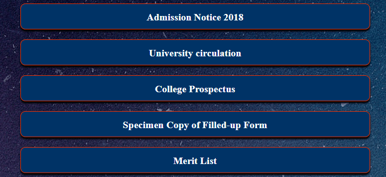 Gour Mahavidyalaya College Merit List 2018
