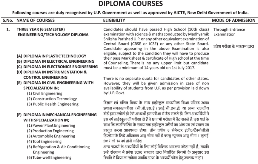 IERT Courses And Eligibility