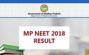 mp mbbs merit list 2018