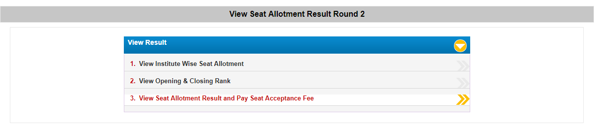 wbjee 2nd round seat allotment result