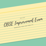 CBSE Improvement Exam 2019