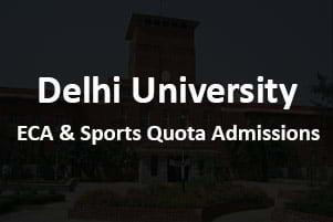 DU Sports Quota Merit List