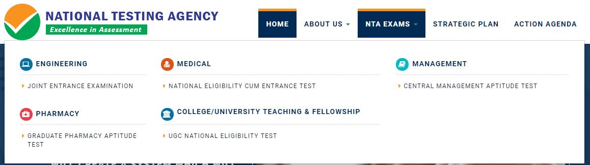 NTA JEE Main Application Form 2019
