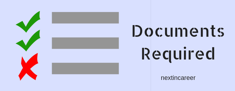 Documents Required for JEE Main 2019 Application Form