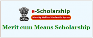 Merit Cum Means Scholarships Scheme For Minorities 2018