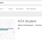 NTA Student App for Test Practice Centre
