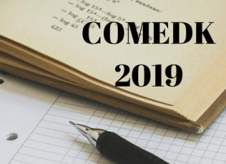 COMEDK 2019