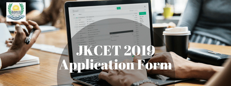 JKCET 2019 Application Form