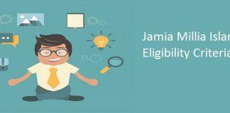 Jamia Millia Islamia eligibility criteria