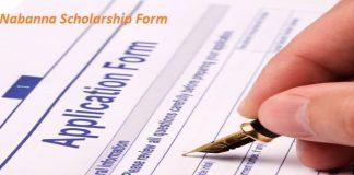 Nabanna Scholarship Application Form 2019-20, Download PDF, WBCMO