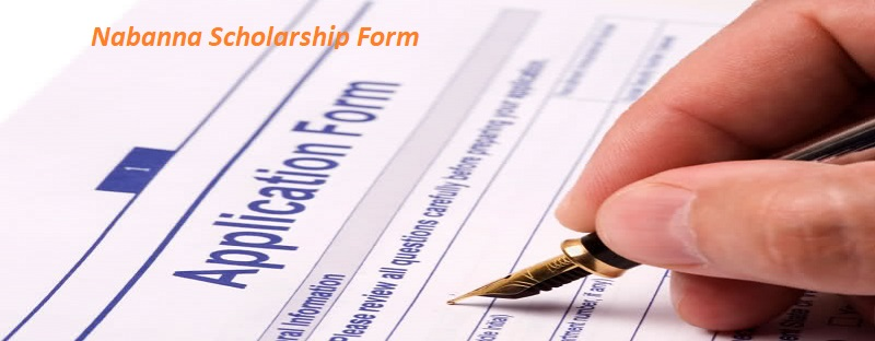 Nabanna Scholarship Application Form 2019-20, Download PDF