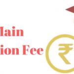 jee main application fee