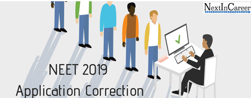 NEET 2019 Application Correction