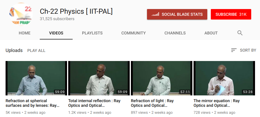 NTA Video Lectures for PHYSICS