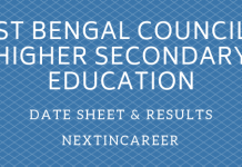 West Bengal Board Time Table 2019